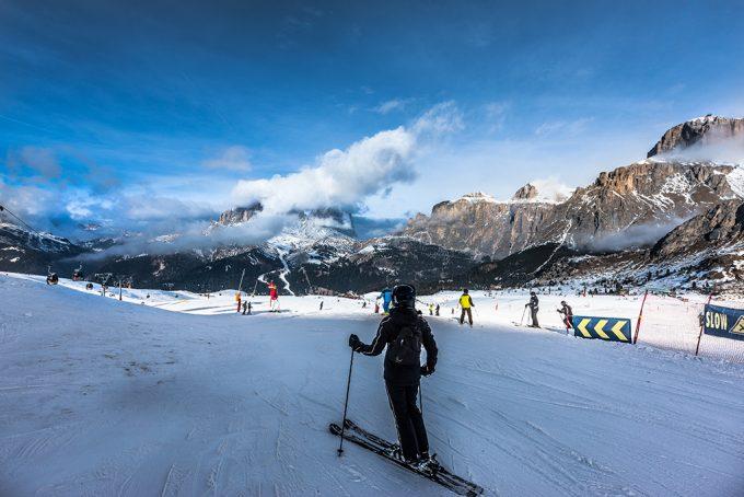 Canazei Italien ski Marina Aagaard blog travel rejse