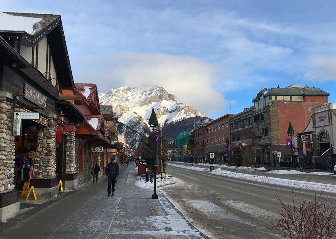 Banff Canada ski resort Marina Aagaard blog travel rejse