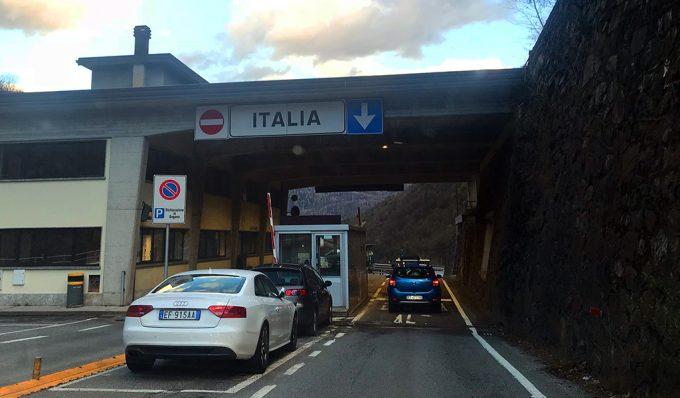 Italia grænse