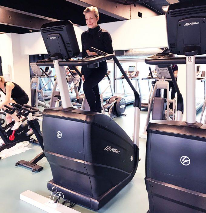 Challenge WOD trappemaskine Marina Aagaard blog fitness