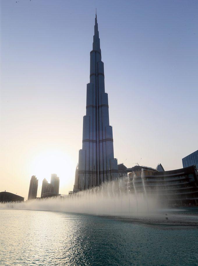 At the Top Downtown Dubai Marina Aagaard blog travel rejse