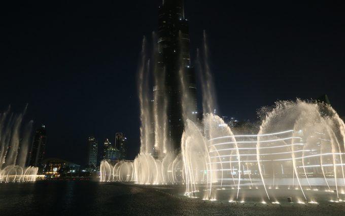 Dubai The Fountain Marina Aagaard blog travel rejse