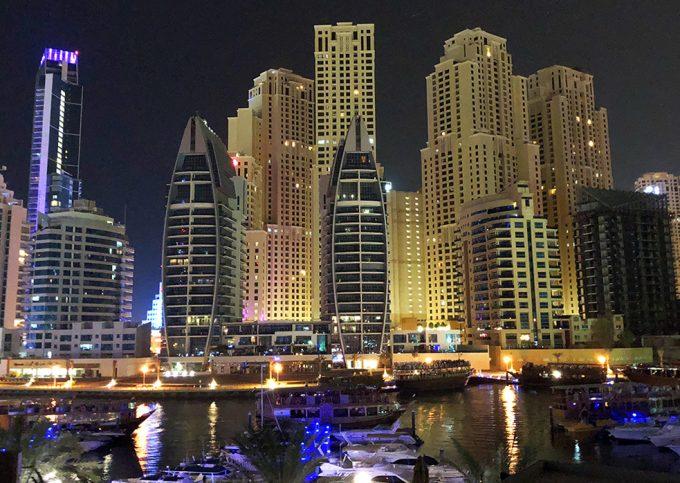 En sort dag i Dubai Marina Aagard blog travel rejse