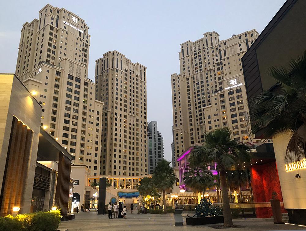 JBR Dubai Marina Aagaard blog travel rejse