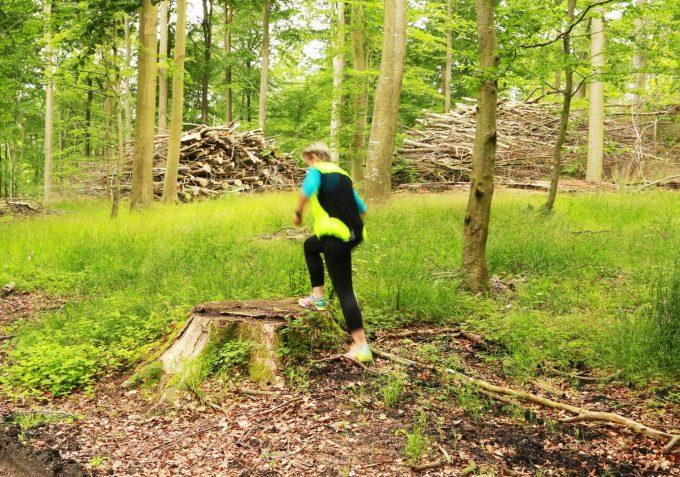 Udendørs Træning Outdoor Fitness i skov Marina Aagaard blog
