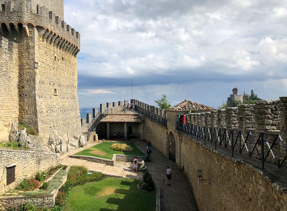San Marino borg fortress Marina Aagaard blog travel photo rejse foto