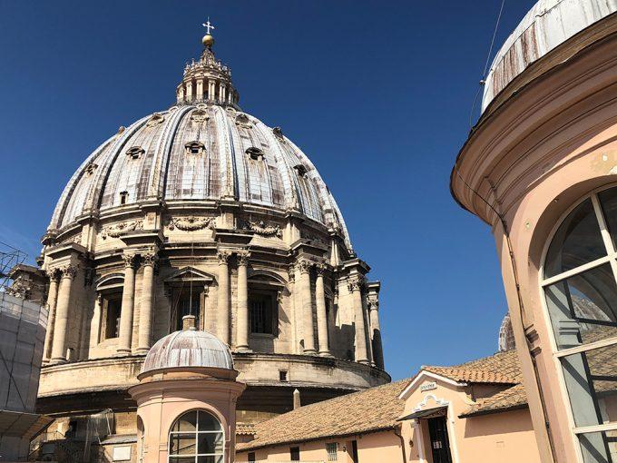 Top 20 rejsemål Rom Peterskirken Marina Aagaard blog rejse
