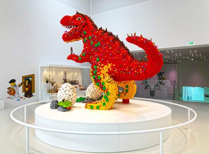 LEGO T-Rex Fotografi Billund Marina Aagaard blog travel