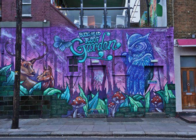 Storby Top 20 rejsemål London graffiti Aagaard blog rejse