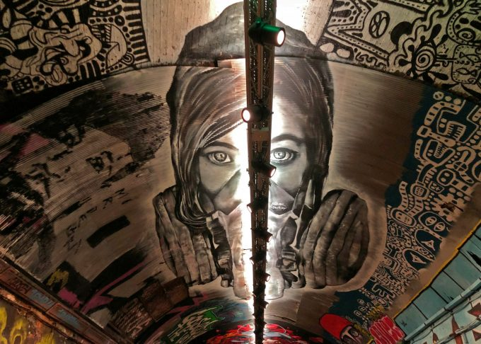 London graffiti Leake Street Tunnel Marina Aagaard blog travel