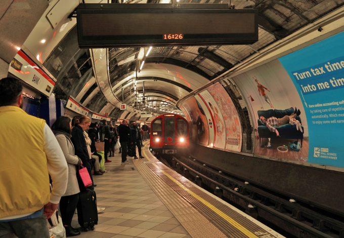 London Tube Underground Train Marina Aagaard blog travel