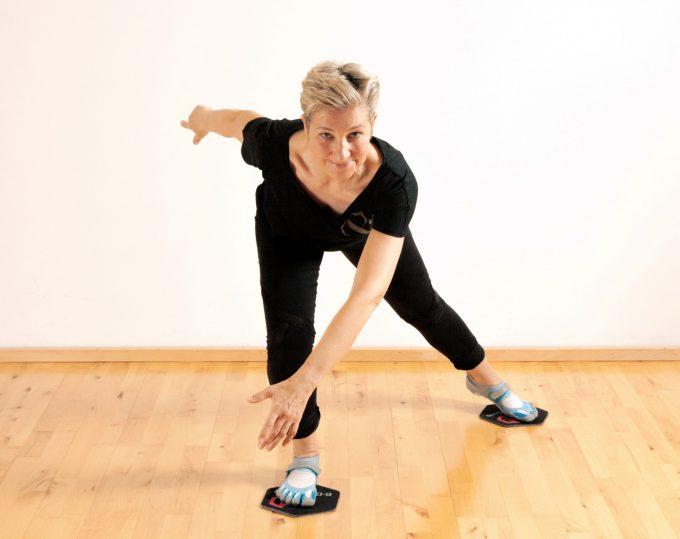 6D slide workout Marina Aagaard blog fitness