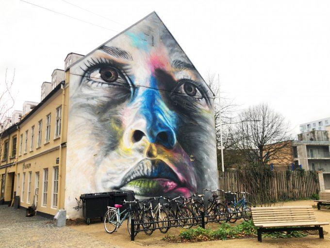Murmaleri streetart kunst kultur Marina Aagaard blog