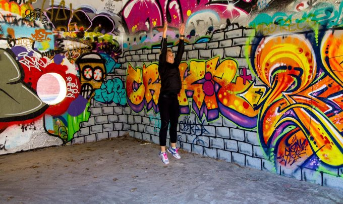 squat jump turn Marina Aagaard blog fitness