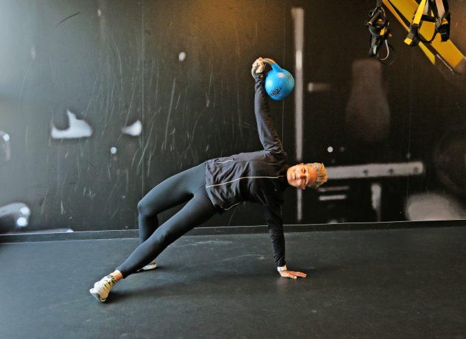 Kettlebell Træning Turkish Get-up Marina Aagaard blog fitness