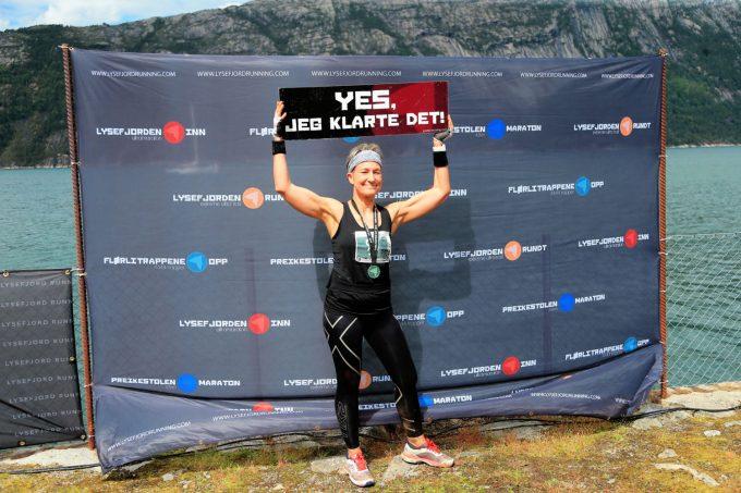 Flørli Trappene Opp Lysefjorden Running Marina Aagaard blog fitness løb