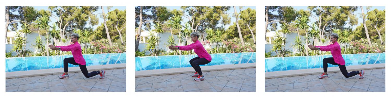 Lunge-squat-lunge fitness testning test Marina Aagaard blog