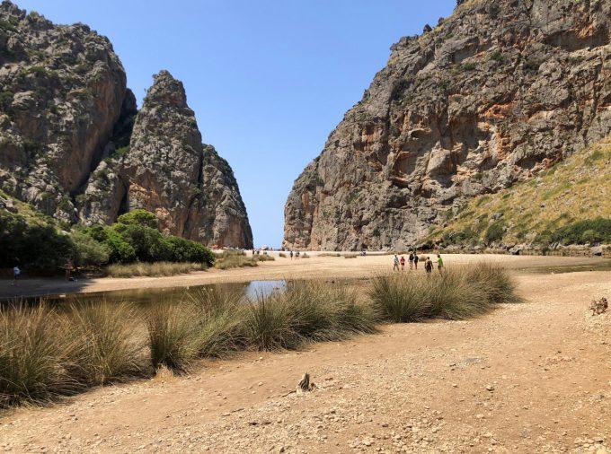 Torrent de Pareis Sa Calobra Mallorca gorge hiking bouldering outdoor Marina Aagaard blog travel