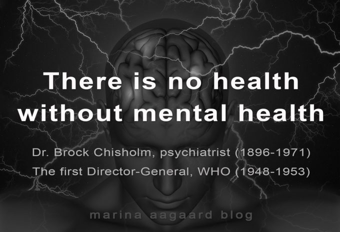 Mental sundhed health Marina Aagaard blog fitness