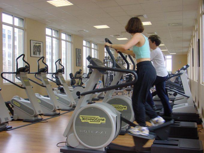 Masser af motion, ingen vægttab foto Technogym