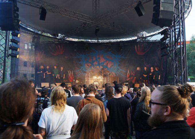 BAEST og SØNK Aarhus Festuge 2019 Marina Aagaard blog musik