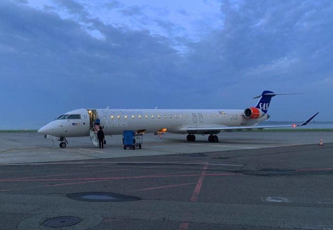 Aarhus_Airport_SAS_plane_Marina_Aagaard_blog_travel_rejse
