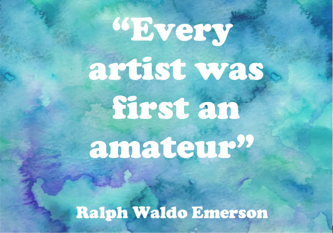 Motivation Quote Artist_Amateau_Ralph_Waldo_Emerson