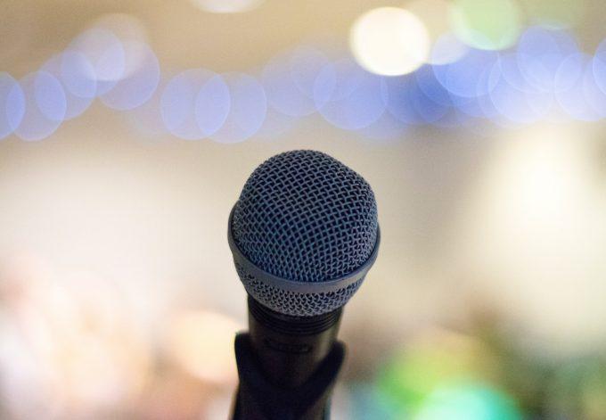 Interview mikrofon microphone