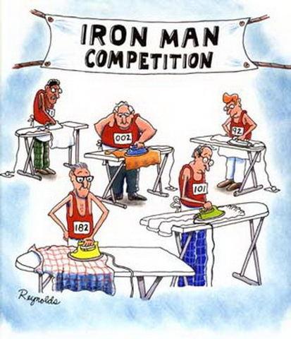 Humor motion marathon Dan Reynolds motivation cartoon