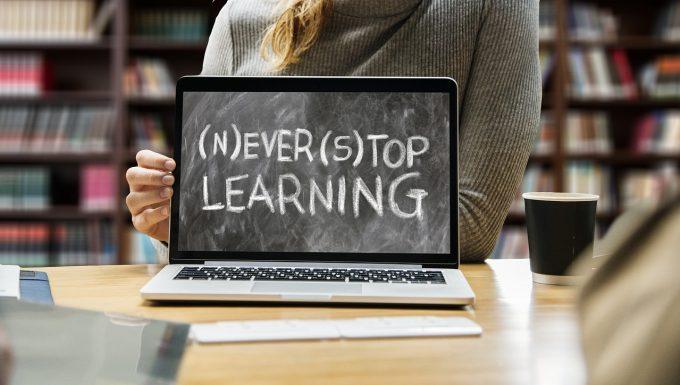 Succes Never stop learning læring lær så længe du lever Marina Aagaard blog