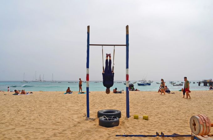 Kap Verde Sal outdoor fitness Marina Aagaard blog travel rejse foto