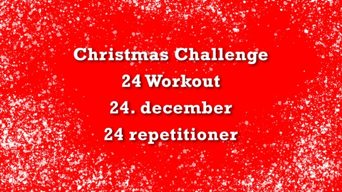 Julekalender fitness 24 Christmas Challenge Marina Aagaard blog