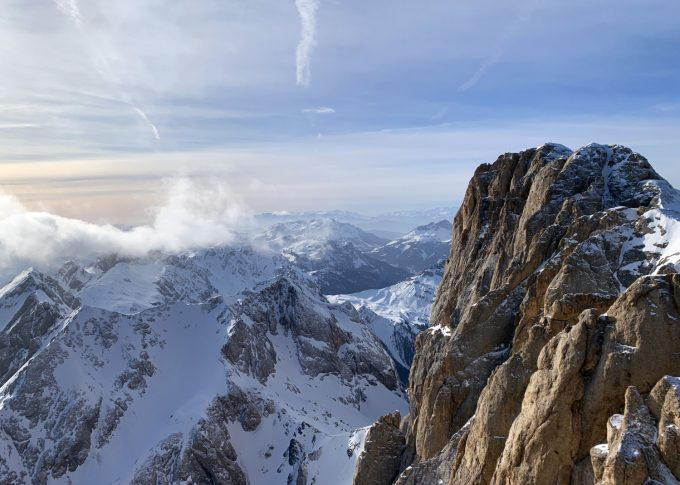 Marmolada Canazei Italien Marina Aagaard blog travel ski