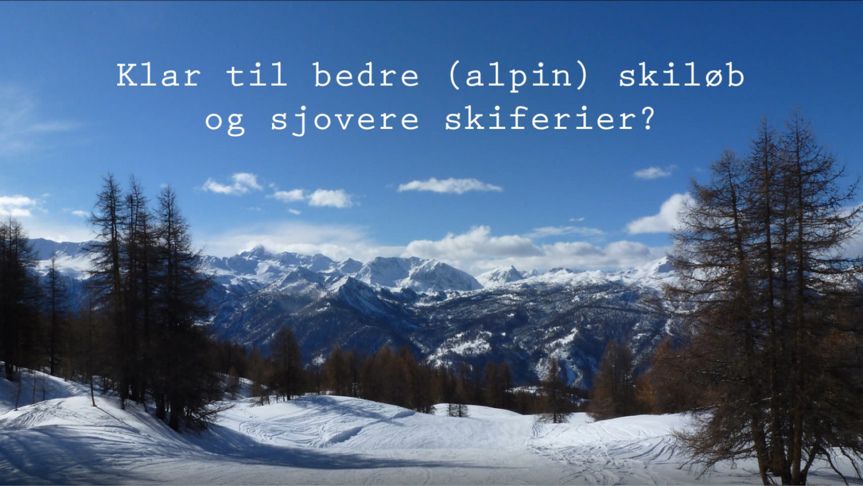 Fit til skiferie Marina Aagaard blog travel fitness