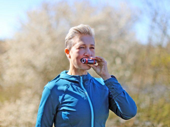 Airofit åndedrætstræner breathing Marina Aagaard blog fitness