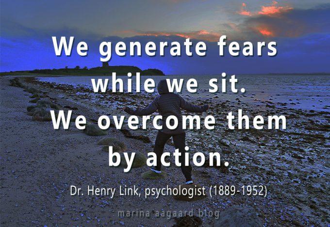 Frygt ikke No Fears Action Marina Aagaard blog motivation
