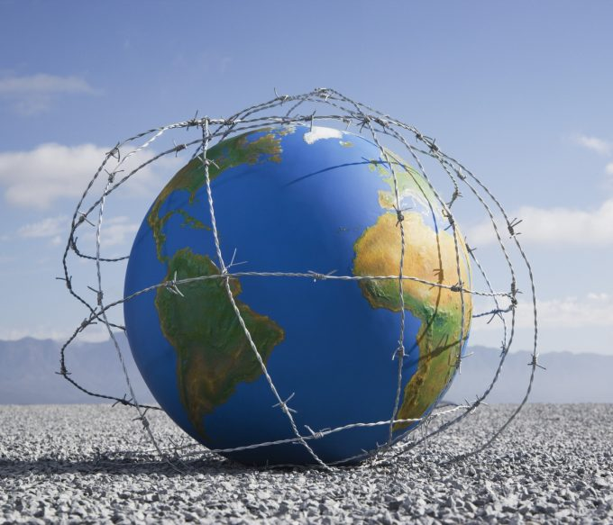 Jordens dag 2020 i Stock