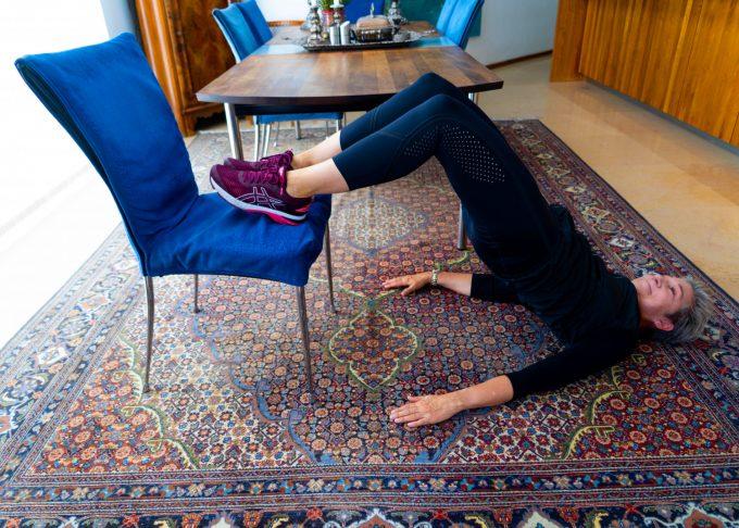 Hjemme gym gratis hjemmetræning Marina Aagaard blog fitness