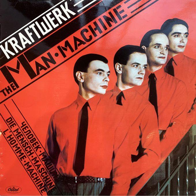 Kraftwerk Man-Machine Florian Schneider Ralf Hüttel Marina Aagaard blog musik