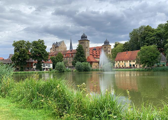Bilferie i Tyskland fordele og ulemper Thurnau Marina Aagaard blog travel rejse