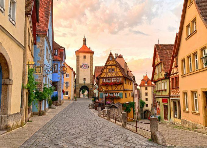 Rothenburg ob der Tauber Marina Aagaard blog travel rejse