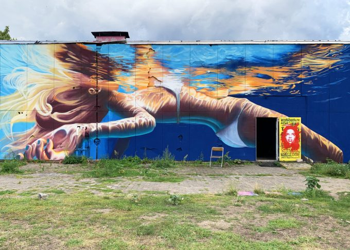Teufelsberg Street art foto kunst Marina Aagaard blog travel rejse
