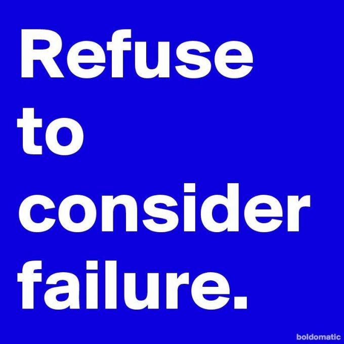 Fiasko Fejl Fejlen Failure