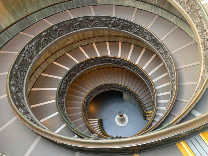 Bramante Staircase Marina Aagaard blog rejse travel photo