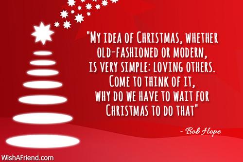 Vent ikke til juleaften Jul motivation