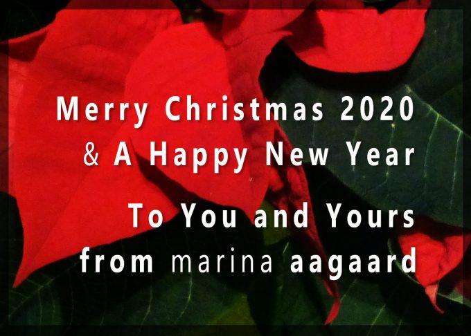 Christmas Greeting 2020 Marina Aagaard blog