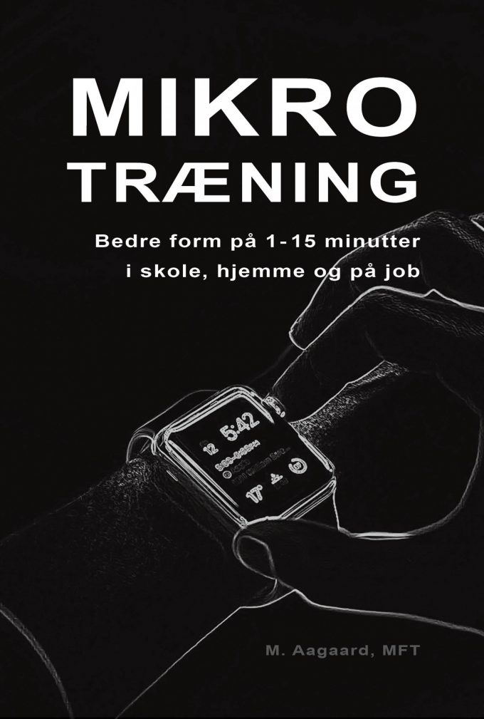 Mikrotræning bog tidseffektiv fitness Marina Aagaard