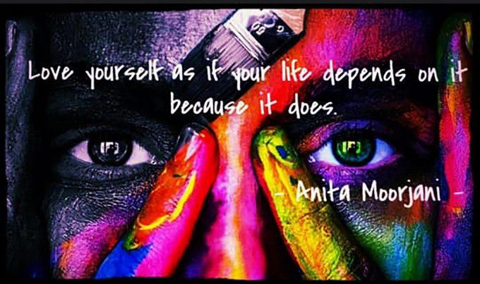 Elsk dig selv Love yourself Foto We Transfer
