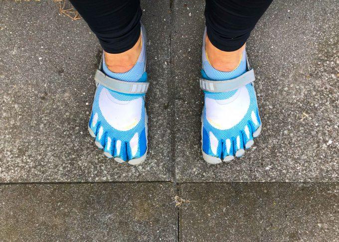 De grimme sko FiveFingers Marina Aagaard blog fitness