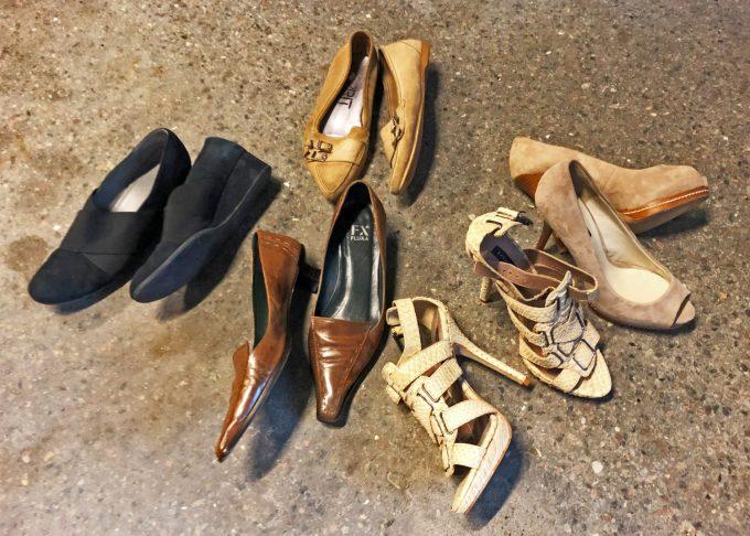 De udtjente sko Marina Aagaard blog livsstil